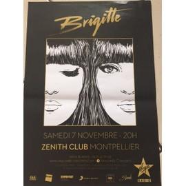 Brigitte   -  - AFFICHE / POSTER Livré Roulé