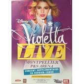 Violetta - Disney - Live - Affiche / Poster Livr� Roul�