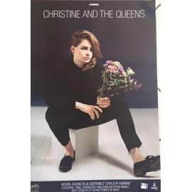 Christine And The Queens - Chaleur Humaine - Concert - AFFICHE / POSTER Livré Roulé
