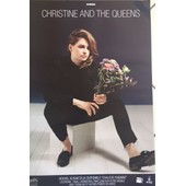 Christine And The Queens - Chaleur Humaine - Concert - Affiche / Poster Livr� Roul�