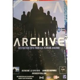 Archive -  - AFFICHE / POSTER Livré Roulé