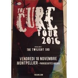 The CURE - Tour 2016 - AFFICHE / POSTER Livré Roulé