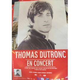 Thomas DUTRONC - En Concert - AFFICHE / POSTER Livré Roulé