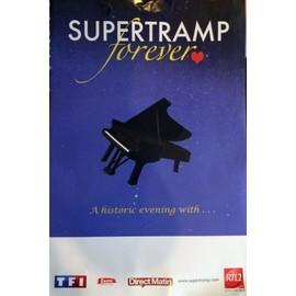 SUPERTRAMP - Forever - Concert Montpellier - AFFICHE / POSTER Livré Roulé