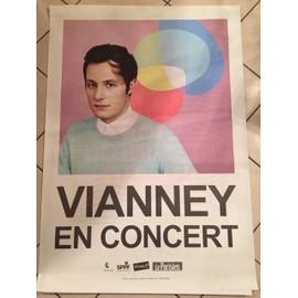Vianney - 2015 - Live - AFFICHE / POSTER Livré Roulé