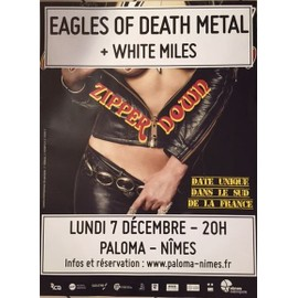 Eagles Of Death Metal - Concert - AFFICHE / POSTER Livré Roulé