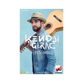Kendji Girac - Concert 2015 - Ensemble - AFFICHE / POSTER Livré Roulé
