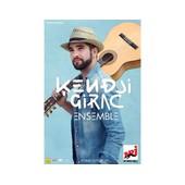 Kendji Girac - Concert 2015 - Ensemble - Affiche / Poster Livr� Roul�