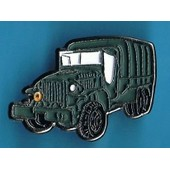 6016 // Pin's: Camion Militaire Americain Gmc Cckw 353