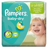 Pampers Baby Dry Taille 6+ Des 15 Kg 30 Couches