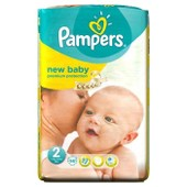 Pampers New Baby Taille 2, 3 A 6 Kg 56 Couches