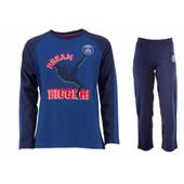 ef91ff1f4f5b1 Pyjama T-Shirt + Pantalon Psg - Collection Officielle Paris Saint Germain
