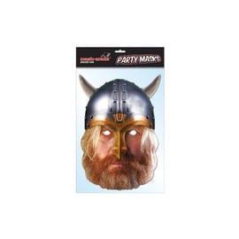 Masque Carton Viking Historical Face Card Mask