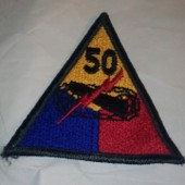 Patch Us Army 50 Nd Amored Division