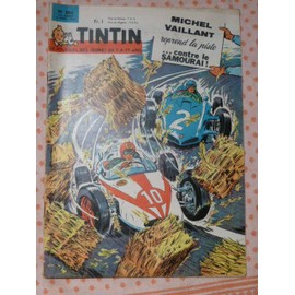 Tintin Le Journal Des Jeunes De 7 � 77 Ans N�806 -2 Avril 1964-52 P. Bd Coul-Michel Vaillant