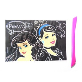 Carte � Gratter Disney Princesse Scratch Cards Enfant