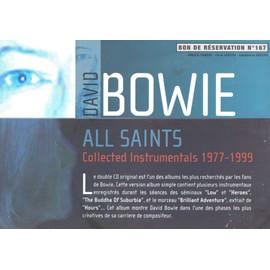 DAVID BOWIE ALL SAINTS /PLV FORMAT A4