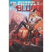 Fistful Of Blood 3 Cover Big Boobs ( V.O. Simon Bisley 2015) de Kevin Eastman