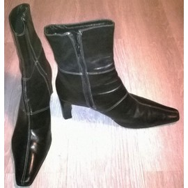 Bottines Noires G�mo