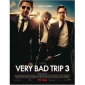 Very Bad Trip 3/Trois (The Hangover Part 3) - V�ritable Affiche De Cin�ma Pli�e - Format 40x60 Cm - De Todd Phillips Avec Justin Bartha, Ken Jeong, Bradley Cooper, Mike Tyson