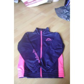 Jogging Kappa Bleu Et Rose