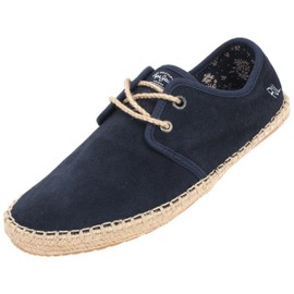 Chaussures Basses Cuir Ou Synth�tique Pepe Jeans Tourist Navy Marine Suede Bleu 79107