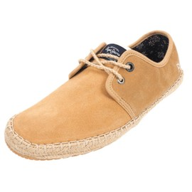 Chaussures Basses Cuir Ou Synth�tique Pepe Jeans Tourist Beige Suede Beige 79385