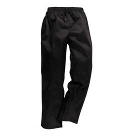 Pantalon De Cuisine Patisserie Noir D�perlant