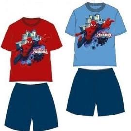 Pyjama 2 Pi�ces Spider-Man Marvel 100% Coton / �cole / Sport *** Neuf L'unit� ***