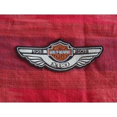 Patch Ecusson Harley Davidson 100th