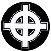 Autocollant Croix Celtique - France - Bretagne - Grand Format - 10 Cm