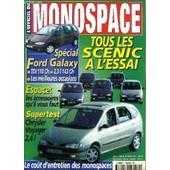 L'officiel Du Monospace N�7 - Tous Les Sc�nic A L'essai, Espace : Les Accessoires Qu'il Vous Faut, ... de COLLECTIF