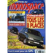 L'officiel Du Monospace N�5 - Comparatif : Tous Les 8 Places, Supertest : Citro�n Evasion 2,1 L Td, ... de COLLECTIF