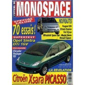 L'officiel Du Monospace N�9 - Sp�cial Salon : 70 Essais, La R�v�lation : Citro�n Xsara Picasso, ... de COLLECTIF