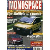 L'officiel Du Monospace N�10 - Fiat Multiplia 1,6l 6 Places, Roulez Gpl !, ... de COLLECTIF