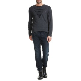 Jeans Guess Dylan Tapered Noir Delave Homme