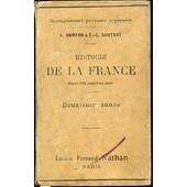 Histoire De La France Depuis 1789 Jusqu'a Nos Jours - Deuxieme Annee / Enseignement Primaire Superieur. de AMMANN A.