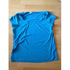 T-Shirt Athl�tisme Domyos Coton Xl Bleu