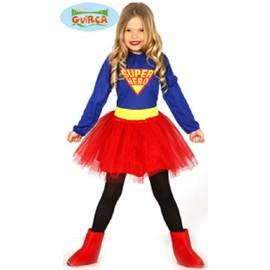 Deguisement Super Hero Fille 5/6 Ans