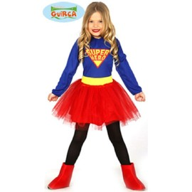 Deguisement Super Hero Fille 7/9 Ans