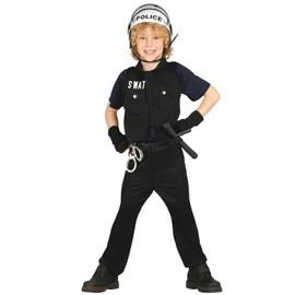 Deguisement Policier Swat 5/6 Ans