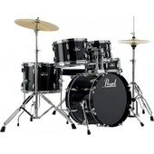 Batterie Pearl Roadshow Junior 18'' 5 F�ts - Jet Black