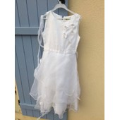 Robe De Soir�e Selection Ceremonie Polyester 10 Ans Blanc