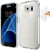 Coque Silicone Souple Galaxy S7 Edge Transparent
