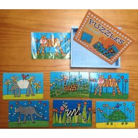 6 Puzzles 12 Pi�ces Th�me Jungle