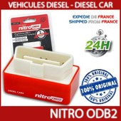Nitro Obd2 Nitroodb2 Chip Tuning Pour Voiture Diesel Neuf