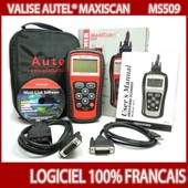 Valise Diagnostique Scanner Obd Maxiscan Ms509 Maxiscan Garage Outil Obd 2