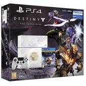 Console Playstation 4 Ps4 500 Go Blanche Chassis C Cuh1216a Edition Limit�e + Destiny : Le Roi Des Corrompus