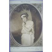 C.Postale : Peinture - Morin E. - Mme R�camier (Mus�e Versailles)