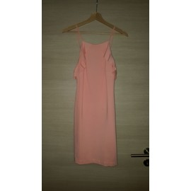 Robe Zara Coton 40 Rose